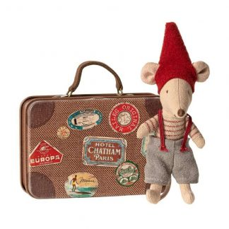Christmas Mouse Little Brother Suitcase