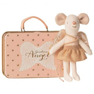 Maileg Guardian Angel Mouse in Tin