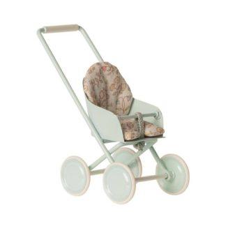 Maileg Micro Stroller Blue