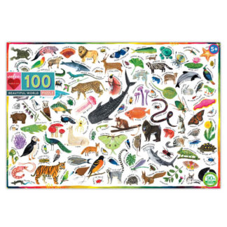 100 Piece Beautiful World Puzzle eeBoo