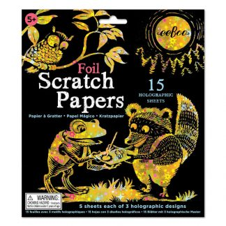 Foil Scratch Papers by eeBoo