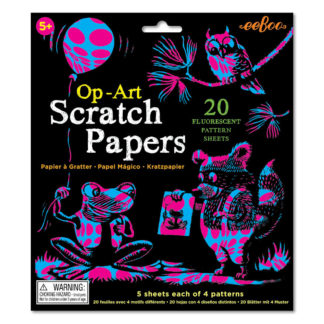 Scratch Papers Fluorescent by eeBoo
