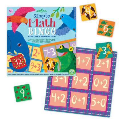 Simple Maths Bingo Game