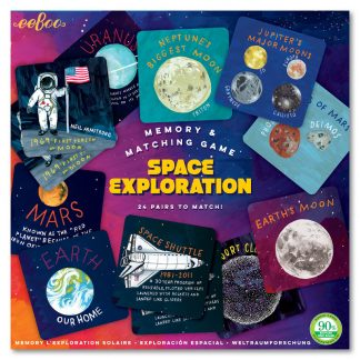 Space Exploration Memory and Matching Game