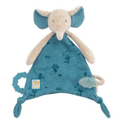 Sous mon Baobab Bergamote Elephant Comforter