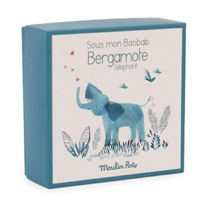 Sous mon Baobab Bergamote Elephant Comforter Box