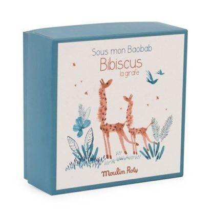 Sous mon Baobab Bibiscus Giraffe Comforter Box