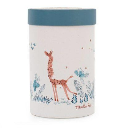 Sous mon Baobab Bibiscus Giraffe Soft Toy Box