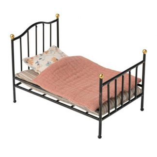 Maileg My Vintage Metal Bed Anthracite
