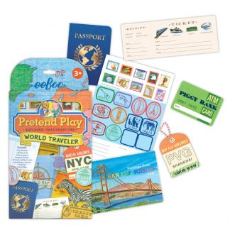 World Traveller pretend play set