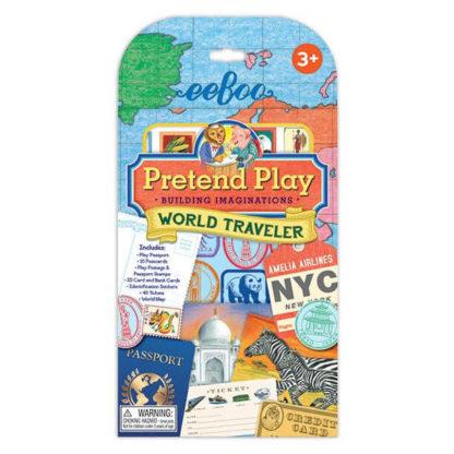World Traveller pretend play set