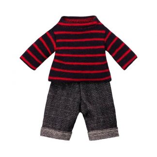 Maileg Dad Mouse Jumper Jeans