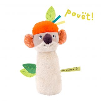 Moulin Roty Dans la Jungle Koco Squeaky Rattle