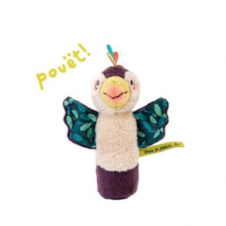 Moulin Roty Dans la Jungle Pakou Squeaky Rattle