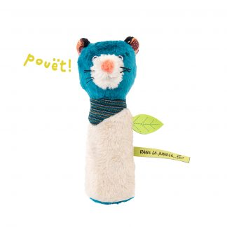 Moulin Roty Dans la Jungle Zimba Squeaky Rattle