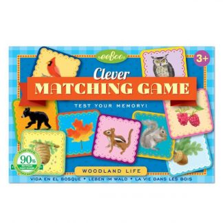 eeBoo Matching Game Woodland Life