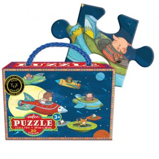 eeBoo Puzzle Up and Away 20 Pieces