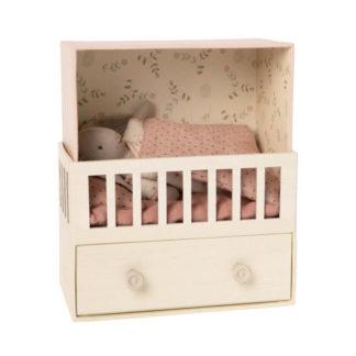 Maileg Micro Bunny Baby Room