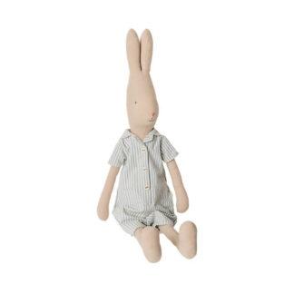 Maileg Size 4 Rabbit Stripy Night Suit