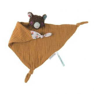 Les Jolis Trop Beaux Bear Muslin Comforter