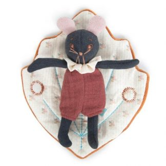 Moulin Roty Rosee Mouse in Leaf