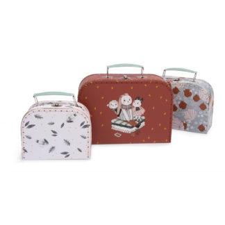 Moulin Roty Apres La Pluie Suitcases